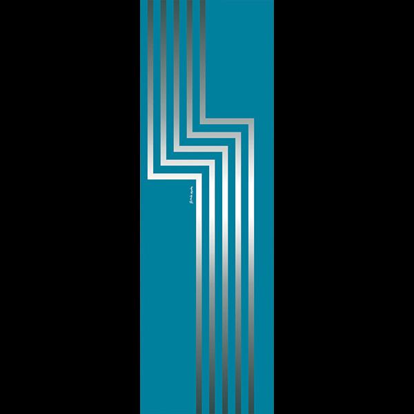 20.010 LABIRINTO 1 ZAFFIRO - COLL. VETROVENETO BY ALESSANDRO MENDINI