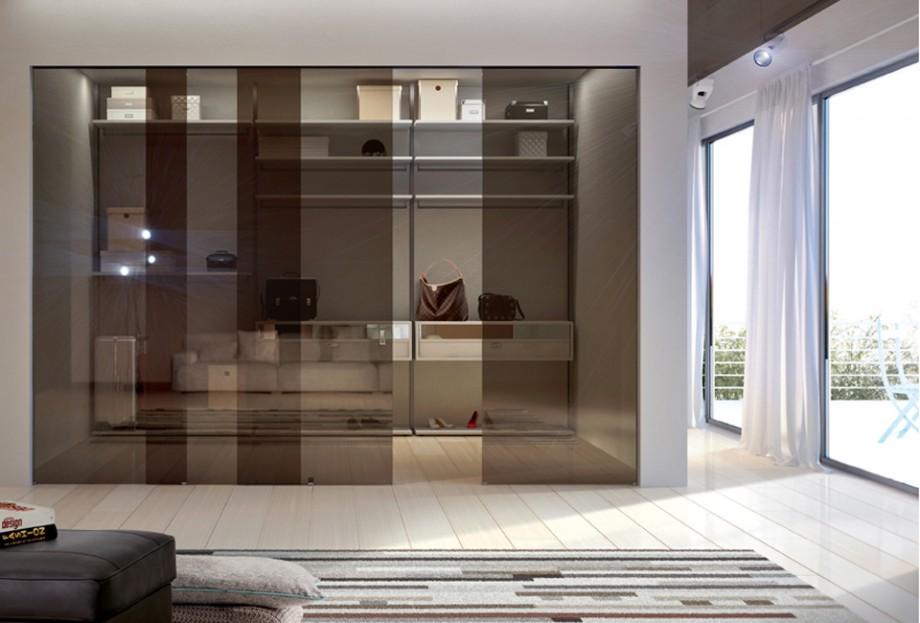 Sistema cabina armadio vesta henry glass - Cabina armadio ante scorrevoli ...