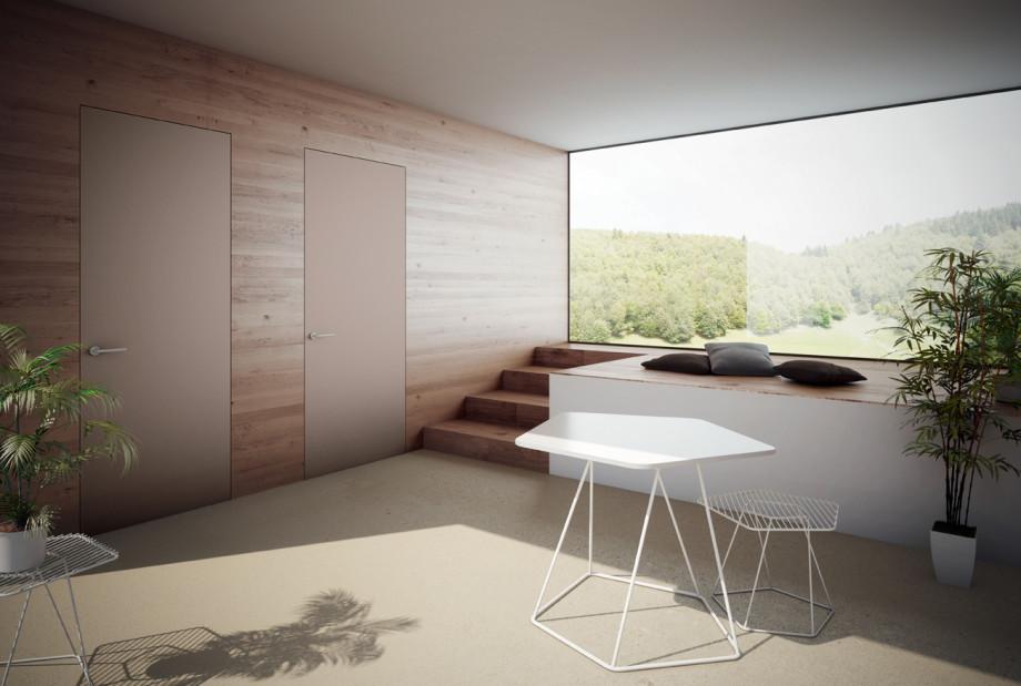Porte scorrevoli in vetro per interni collezione adela for Finestre anodizzate